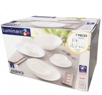 Столовый сервиз 46 пр Luminarc Essence White J3197